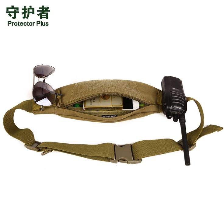 Protector Plus Unisex Camo Waterproof Fanny Pack Waist Belt Bag Travel Wallet Hip Pouch iPhone6 Sports Bag