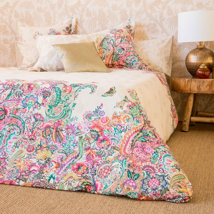 OVERSIZED PAISLEY PRINT BED LINEN - Bed Linen - Bedroom | Zara Home United Kingdom