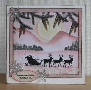Handmade by Ann Baird. Lavinia stamps + Distress Inks.