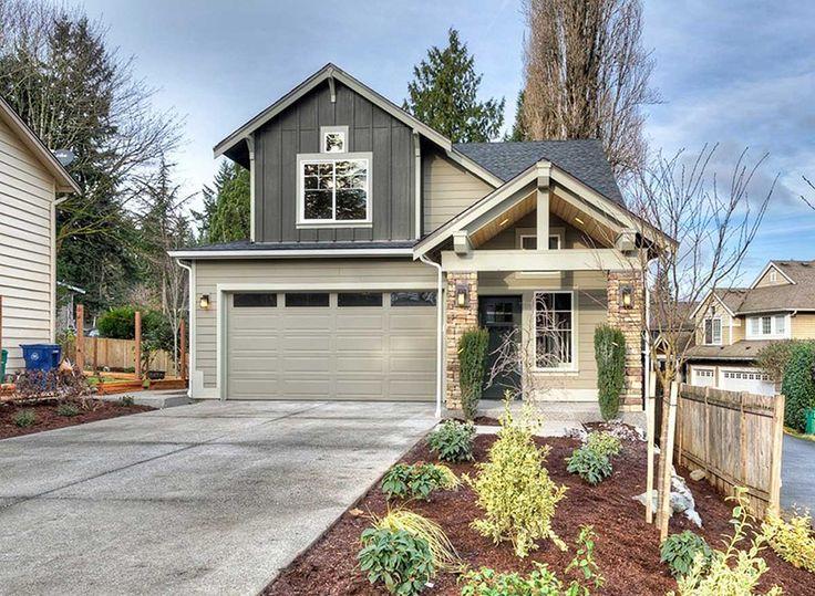 Plan 23275jd narrow lot craftsman in two versions house for Narrow craftsman house plans