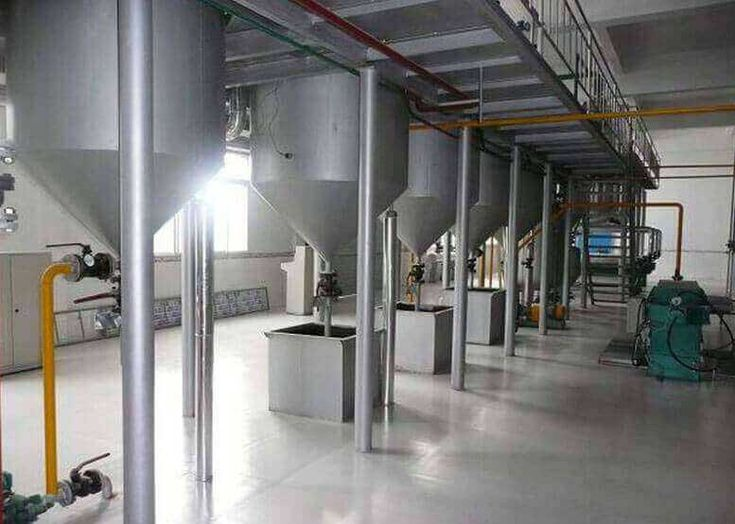 Edible Oil Refinery Plant (Large)