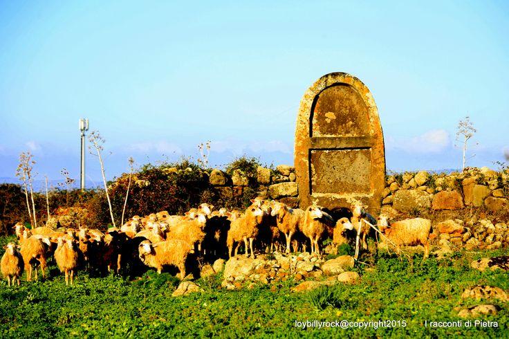Giant Tomb at Borore, Imbertighe. Sardinien doorway