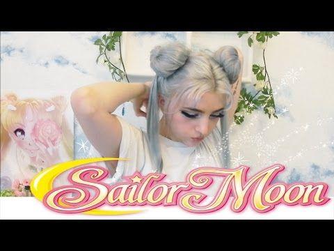 Sailor Moon Hair Tutorial - YouTube