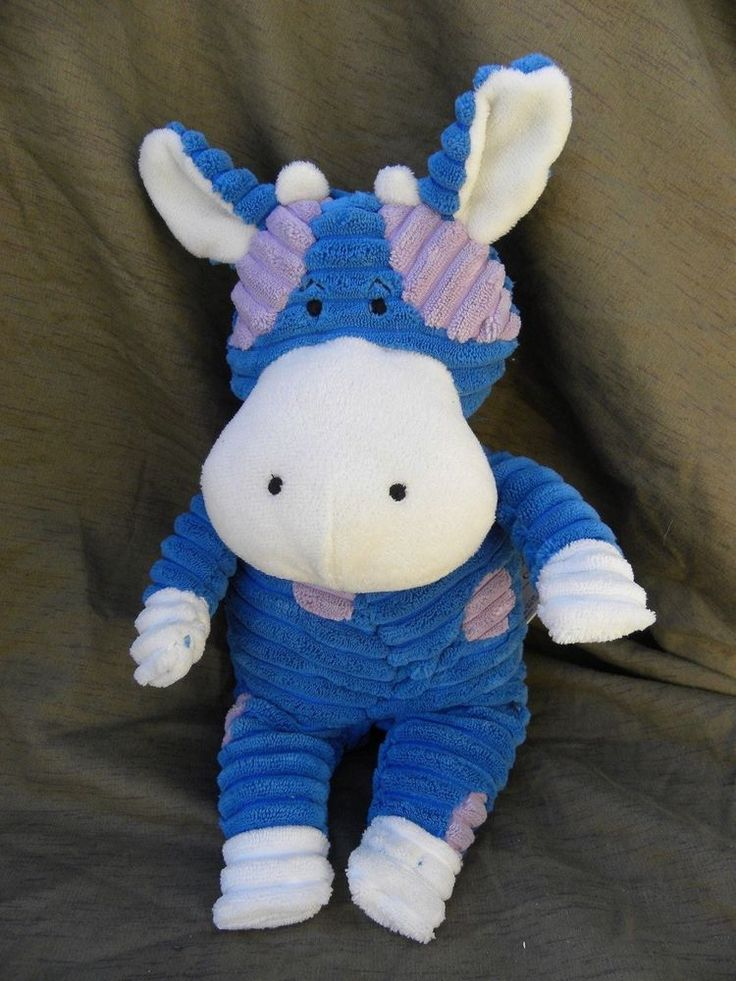 Animated Cow Plush Sings Moves Old MacDonald Stuffed Soft Toy Blue Midwest #MidwestCPK