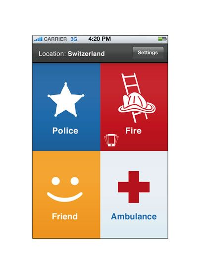 police tracking app for iphone