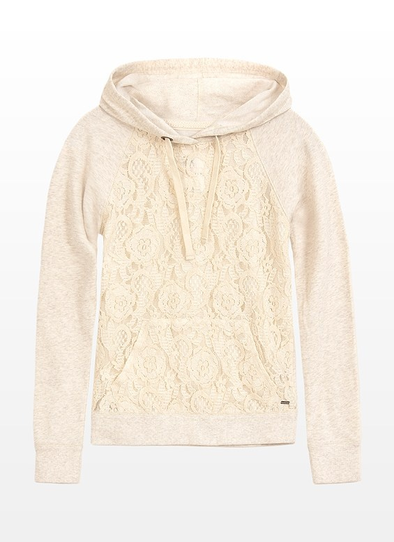 Lace and a hoodie...I want one :)