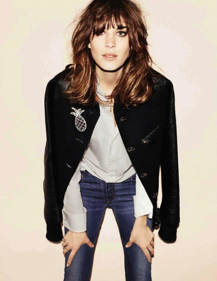 Alexa Chung for Vogue Spain September 2012