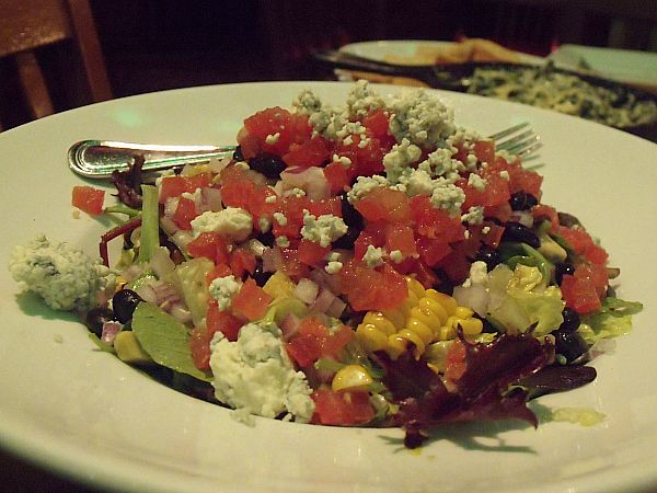 Salad at House of Blues Crossroads Restaurant at Downtown Disney - Anaheim, California