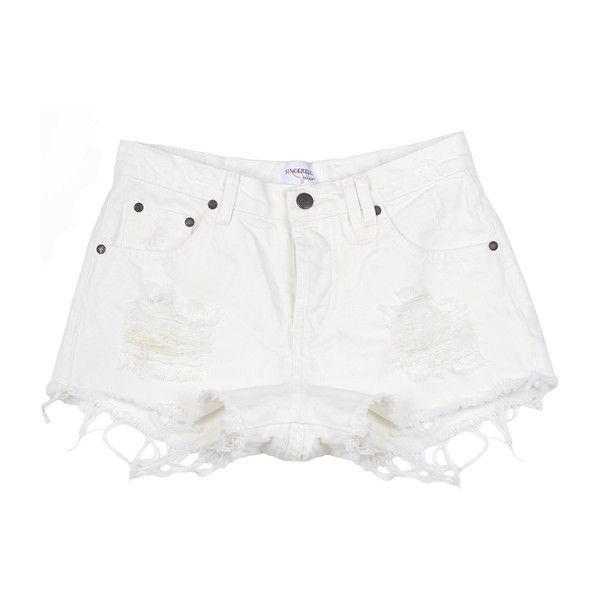 17 best ideas about White Jean Shorts on Pinterest | White denim ...