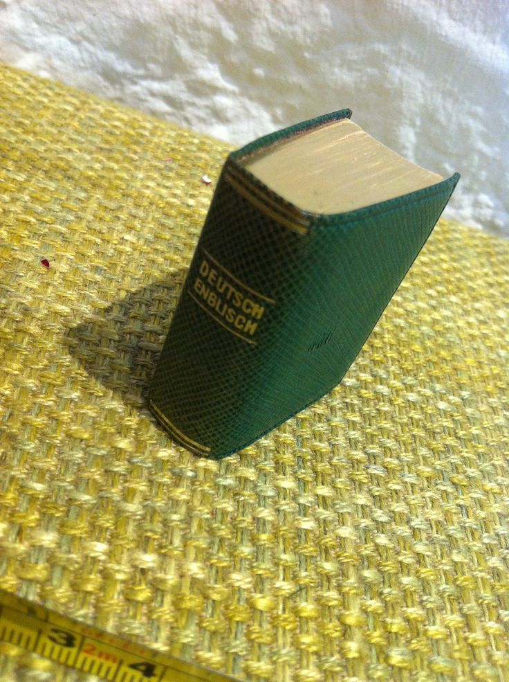 Vintage Langenscheids Lilliput Wörterbuch Deutsch Englisch Goldschnitt Miniatur Buch Langenscheid #2 von Antikladen auf Etsy