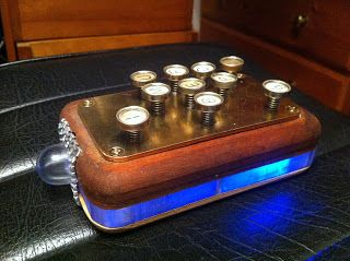 The ultimate remote control for the ultimate Steampunk fan.  By Michael Greensmith, Magician, Ingeneur and Steampunk Artist.