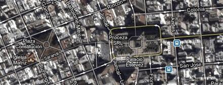 Puerta de la ciudadela   Montevideo - Tours Virtuales en 360° de Uruguay