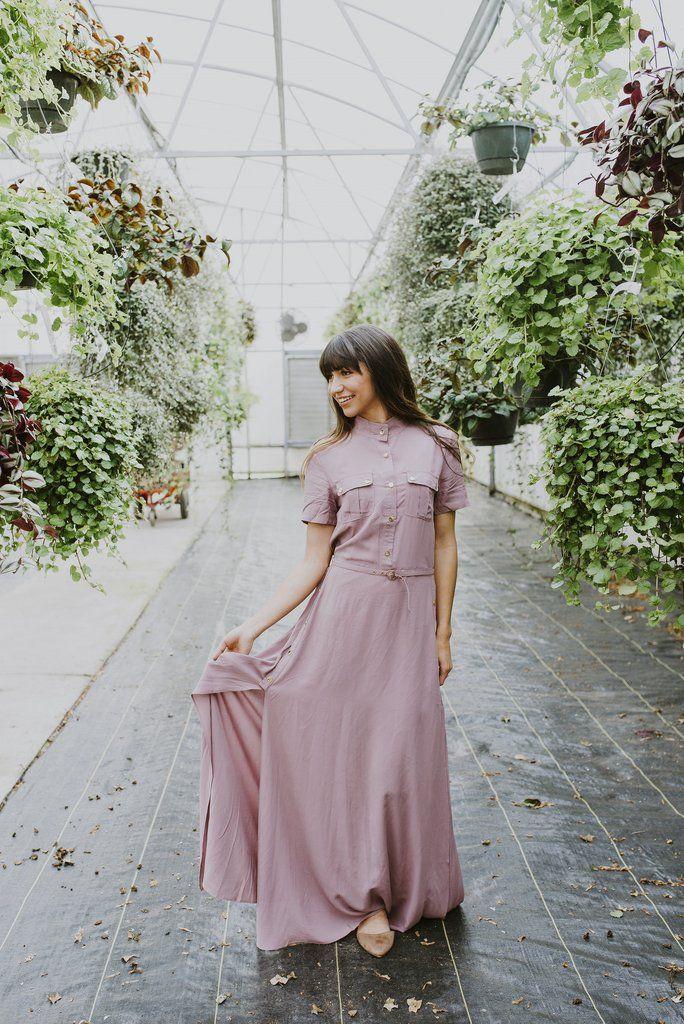 Dress, Women's Clothing, Boutique Clothing, Mauve Dress, Mauve, Utah Boutique, Online Boutique, Blush Lane  www.shopblushlane.com