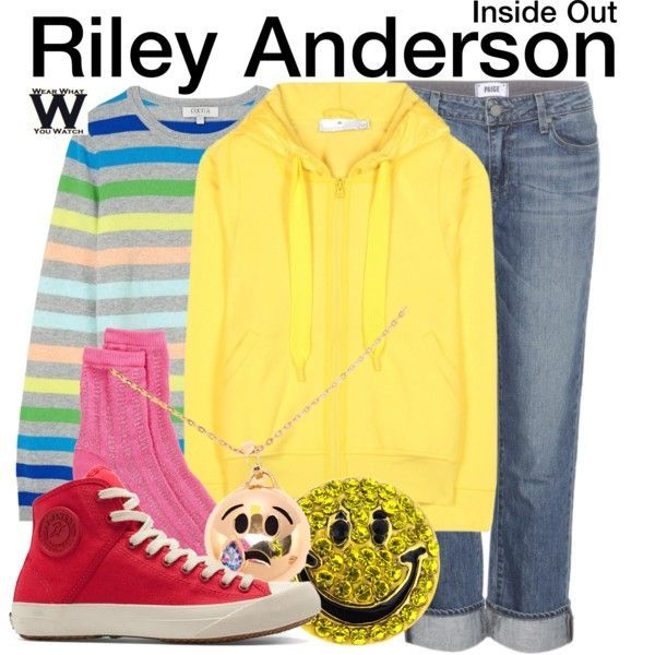 Inspired by Kaitlyn Dias as Riley Anderson in Disney and Pixar's 2015 film Inside Out - Shopping info!