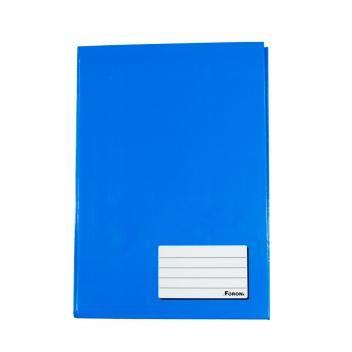 Caderno Brochura Capa Dura Foroni 1/4 96 Folhas 140mm X 202mm - Azul com as melhores condições você encontra no site do Magazine Luiza. Confira!
