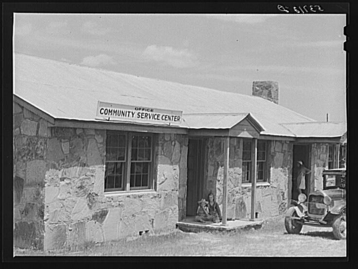 Community service center. Faulkner County, Centerville