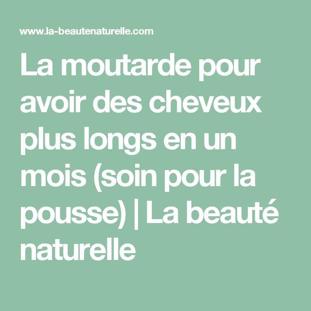 La moutarde pour avoir des cheveux plus longs en un mois (soin pour la pousse) | La beauté naturelle