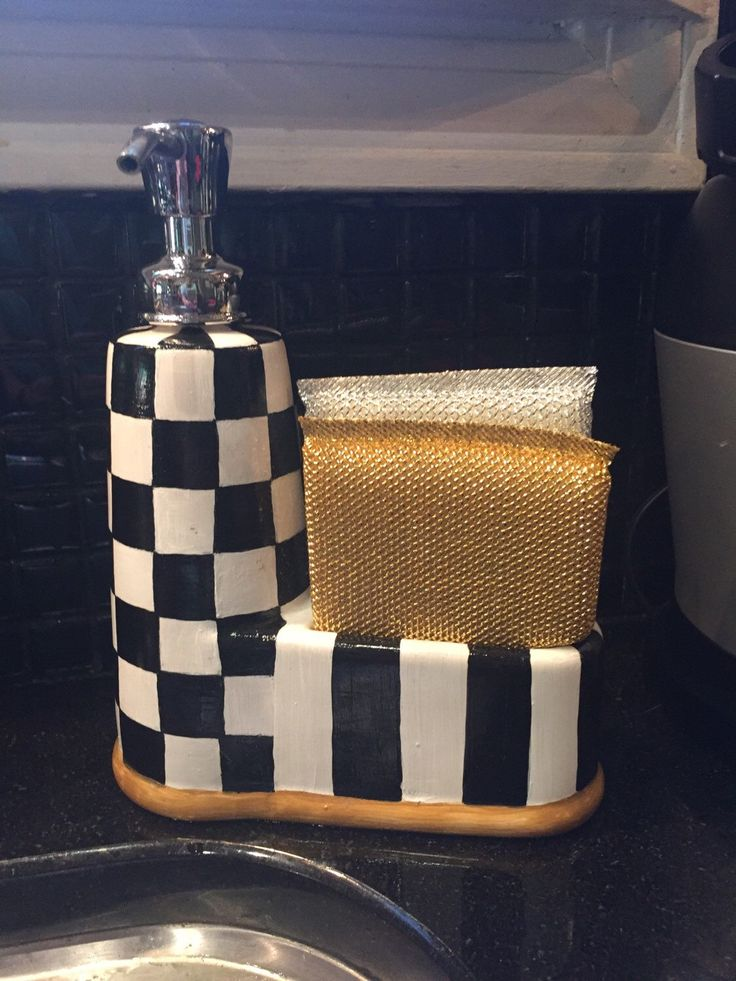 A personal favorite from my Etsy shop https://www.etsy.com/listing/276671764/funky-kitchen-soap-dispenser