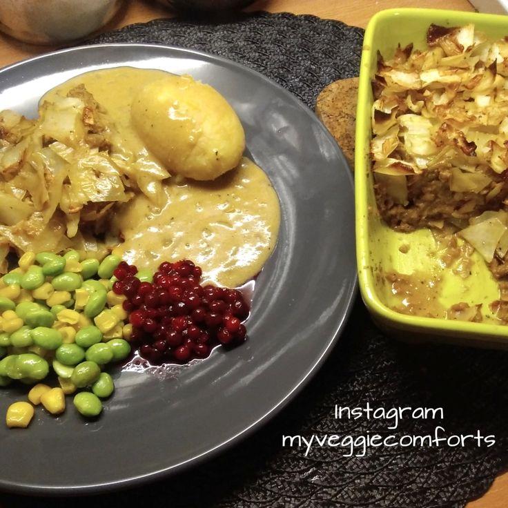 Vegansk kålpudding Vegan cabbagepudding English recipie here: https://nouw.com/myveggiecomforts/vegansk-kalpudding-33124744