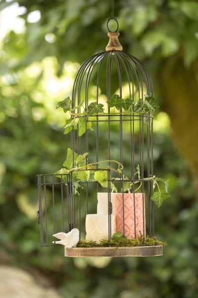 Cage à oiseaux Pastel réf 261802