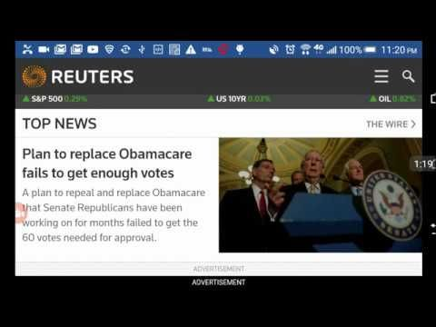 JUDGMENT DAY!!! OBAMACARE STAYS & THE M.O.B. BEGINS IN THE USA... JULY 25, 2017