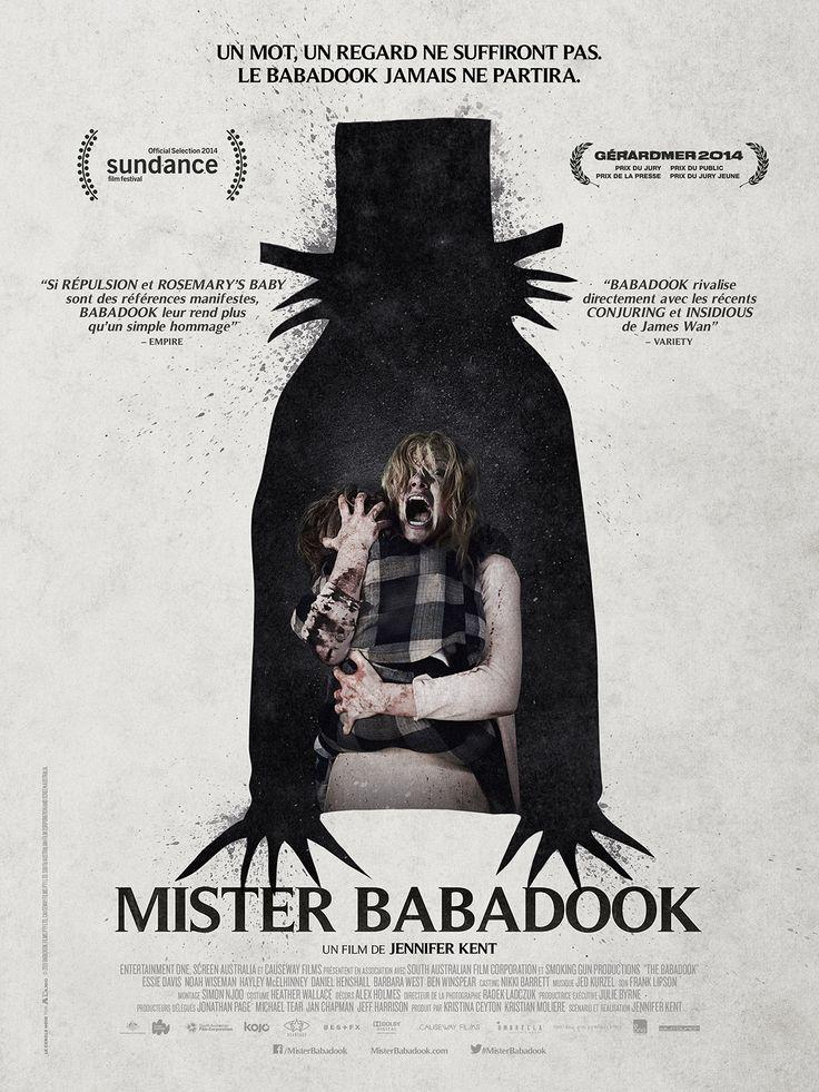 Mister Babadook est un film de Jennifer Kent avec Essie Davis, Noah Wiseman. Synopsis : Depuis la mort brutale de son mari, Amelia lutte pour ramener à la raison son fils de 6 ans, Samuel, devenu complètement incontrôlable et qu'elle n'ar