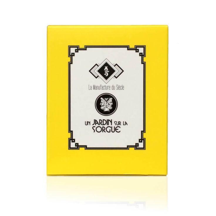 La Manufacture du Siècle - Savon Surgras Un Jardin sur la Sorgue – aux fraîches odeur d'herbe coupée et de champs du Sud. Saponifié à Froid, artisanal, fabriqué en France