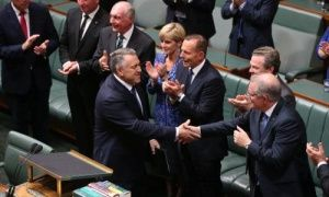 Joe Hockey tell parliament the timetable to budget surplus is on track. Link to video Contribute withguardian witness   Tuesday 12 May 2015    Key events 13h agoGood night and good luck 13h a... http://winstonclose.me/2015/05/13/budget-2015-opposition-parties-and-interest-groups-react-as-it-happened-written-by-katharine-murphy/