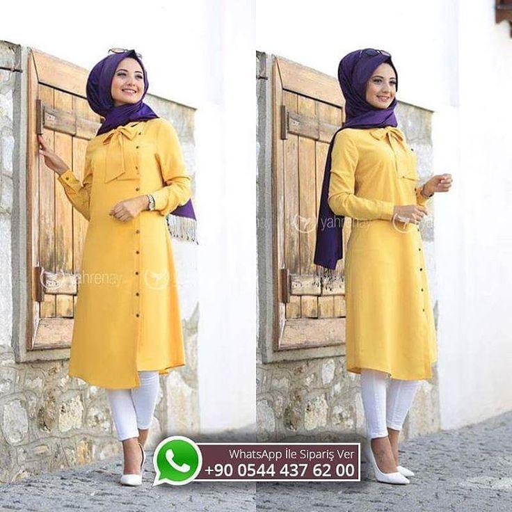 Defne Tunik - Hardal  120 TL !! ��Whatsapp'tan sipariş ve bilgi için : 0544 437 62 00 ��Iade ve değişim garantisiyle ��www.yahrenay.com sitemizde ��Kredi kartına peşin fiyatına 4 taksit ��Kapıda nakit ödeme imkanı ��  #hesnamoda #moda #abiye #giyim #özletasarım #hijab #hijablove #hijablook  #düğün #nişan #kıyafet #picofday #fashion #hijabfashion #onlinealisveris #hijabswag #hijabi #tesettür #moda #tagsforlikes #tesetturgiyim #dress #tesettur #tesettür #tesetturgiyim #tesettürgiyim…