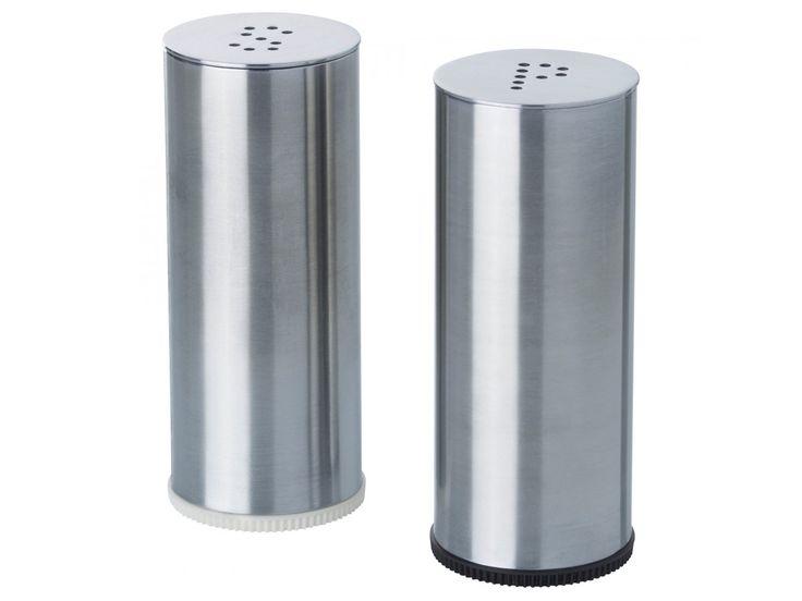 IKEA ПЛАТС Солонка/перечница, 2 штуки, нержавеющ сталь