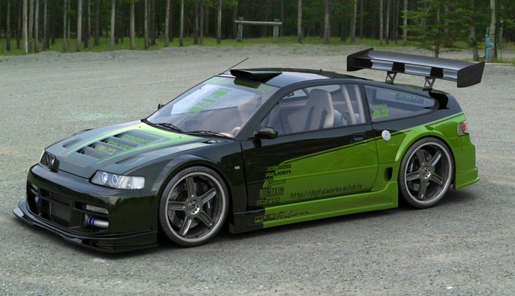 Honda Crx just change the paint job #CRX #Honda #Rvinyl =========================== http://www.rvinyl.com/Honda-Accessories.html