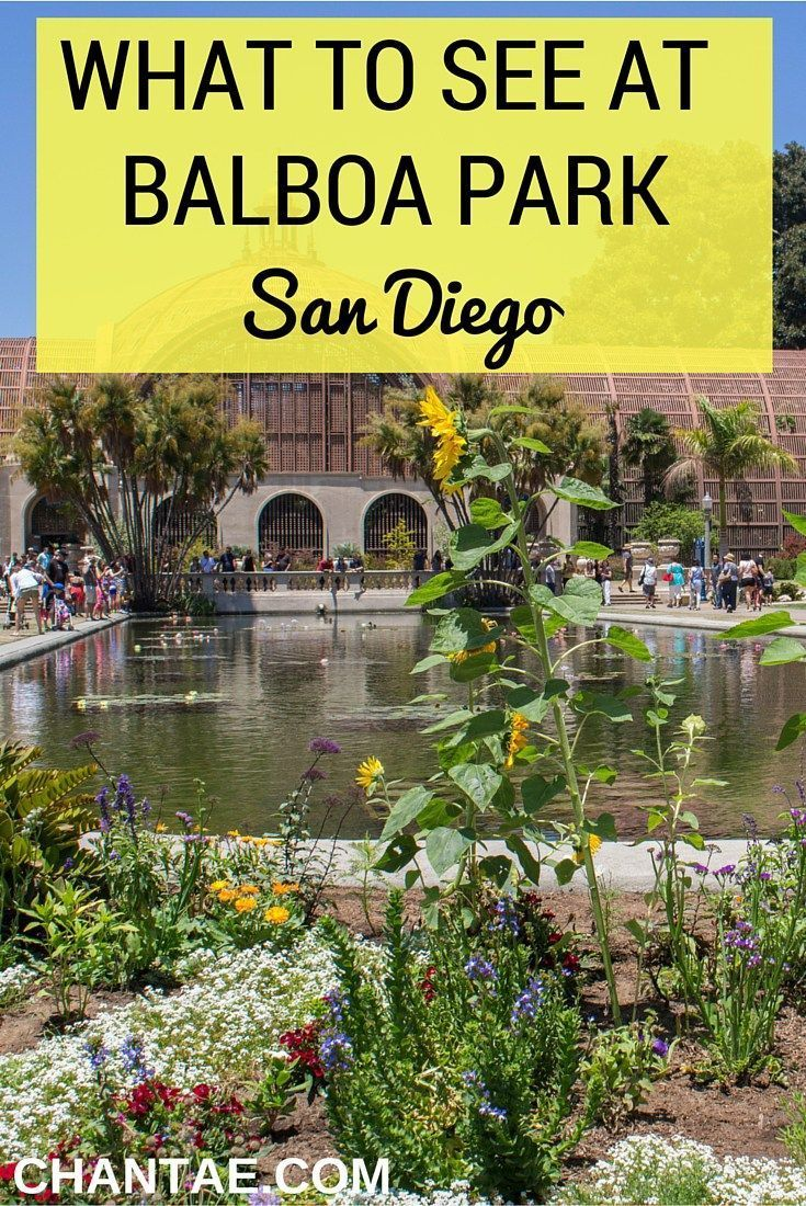 The best museums and things to do in Balboa Park, San Diego, CA - You're going to love it.