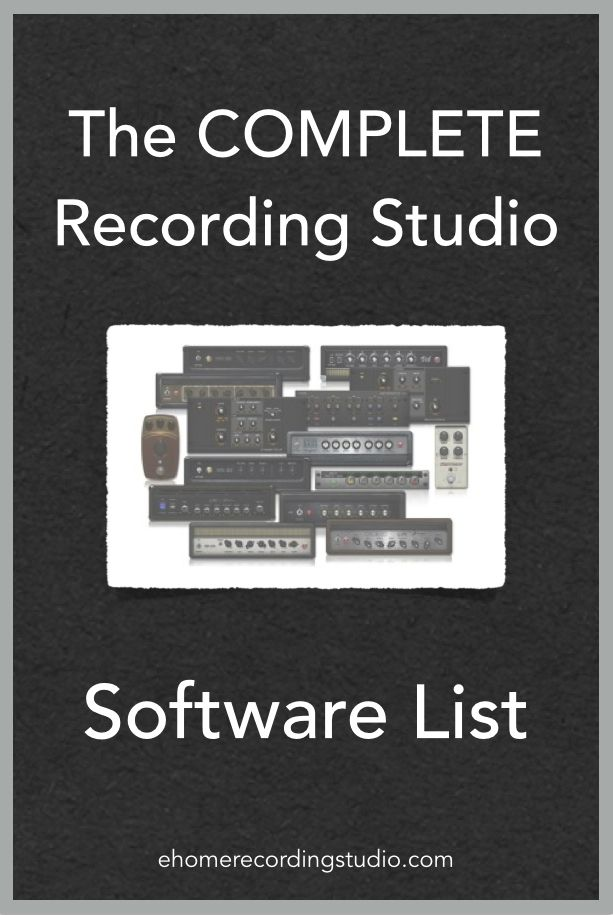 32 best recording studio designs images on pinterest for Music studio design software