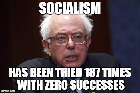 Image result for Socialist Sanders