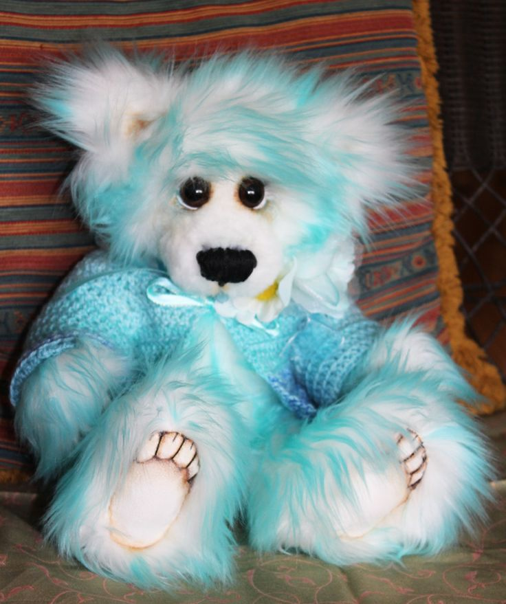 Bailey Bear from RiverSong Art Studio on Etsy