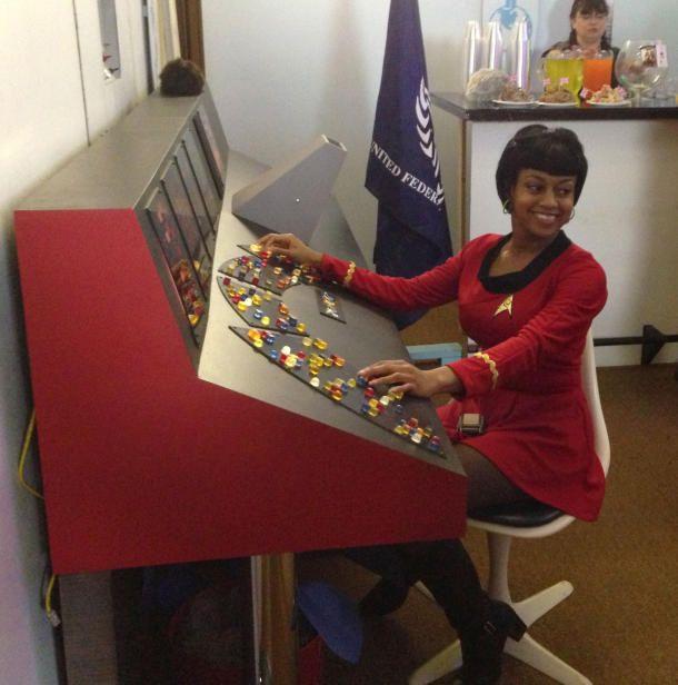 Classic 'Star Trek' control panel gets modern facelift DIY Enterprise bridge control panel uses Arduino, Raspberry Pi technology.