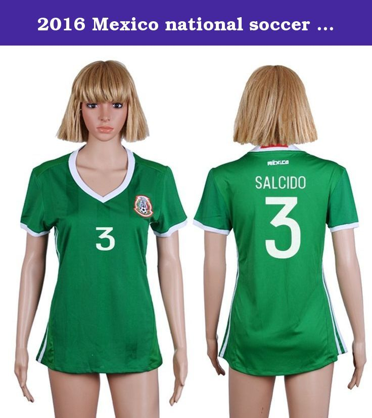 2016 Mexico national soccer team's Women's Custom jersey of The Copa America. We accept customization,Custom your jerseys with any name and number.Select blank jersey and sizes, then send the message to tell us what you need to customize the names and numbers. Store can also other types of customized soccer uniforms and socks, you can send e-mail consultation.