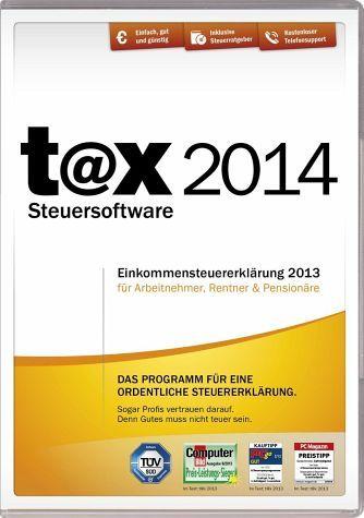 t@x 2014 (für das Steuerjahr 2013)