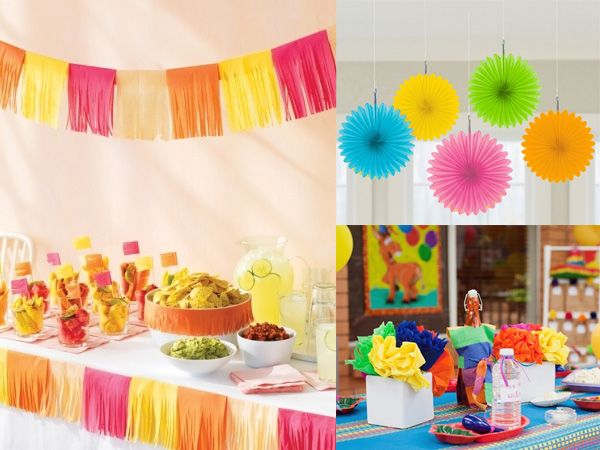 Ideas para la decoracion de una fiesta 5 de mayo ideas for Decoracion de fiestas