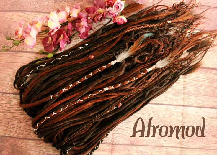 "Excited to share the latest addition to my shop: DE Synthetic Dreads ""Dark Brown Wavy Set"" Afromod #etsy #accessories #hair #syntheticdreads #dreads #desyntheticdreads #dreadlocks #doubleendeddreads #dedreads #fakedreads"