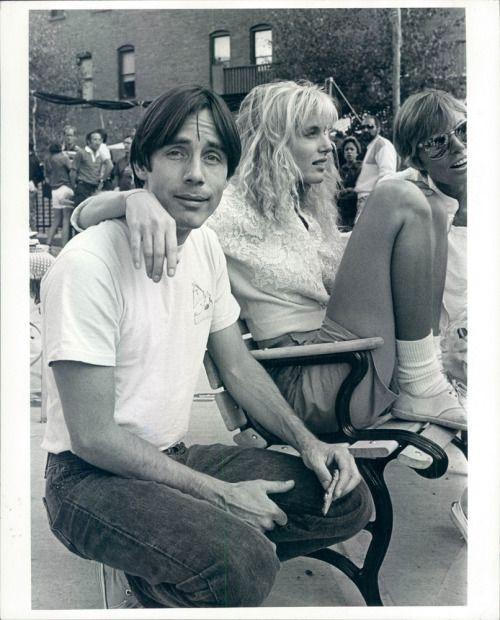 Jackson Browne & Daryl Hannah, 1984