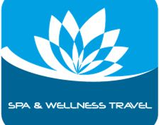 Spa and Wellness Travel Logo