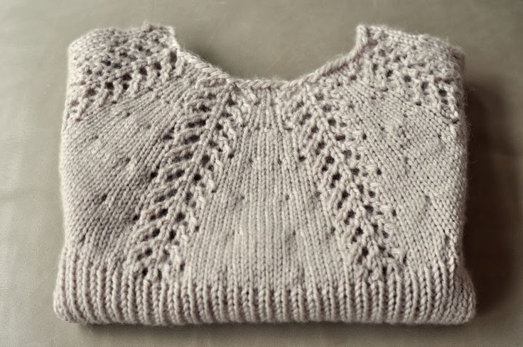 Lacy Short Sleeved Sweater ~ Free Pattern Nr L0204AD