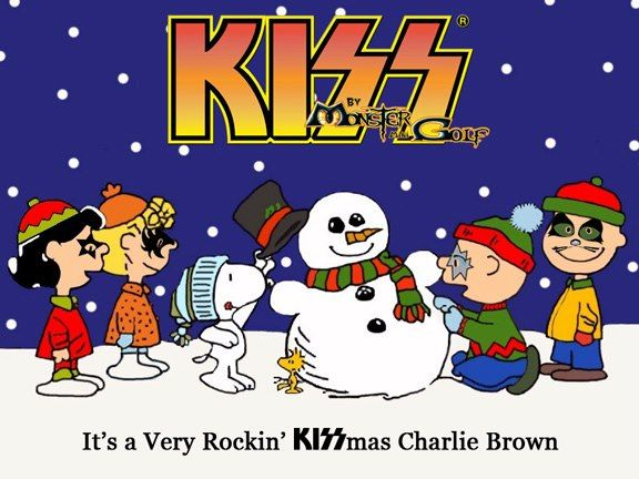Rocking KISSmas Snoopy