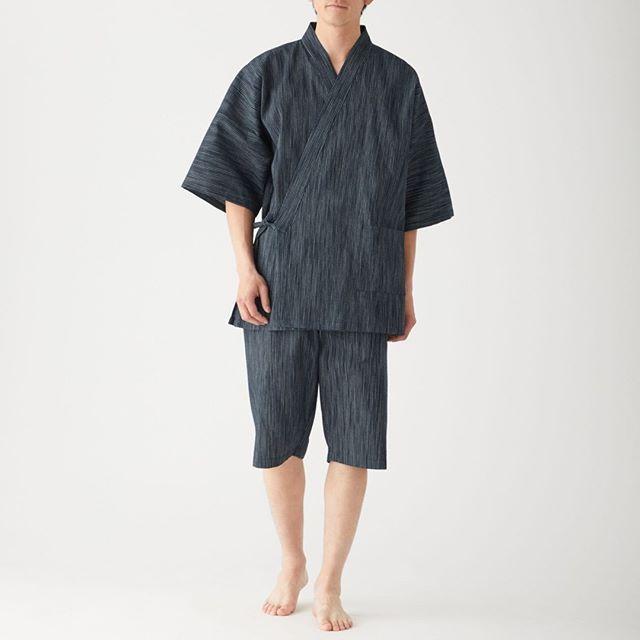 MUJI Men JINBEI Japanese traditional Multipurpose Casual Summer Wear XL size