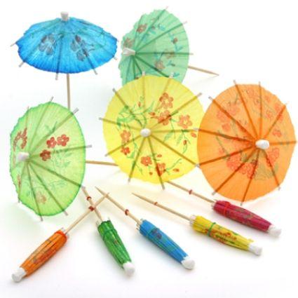 Cocktail Umbrellas / Parasols