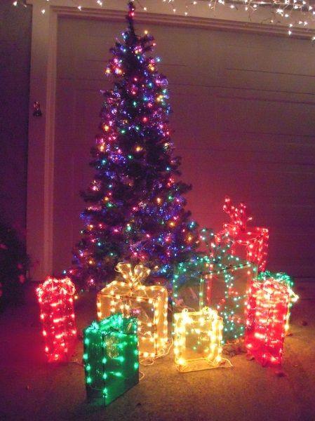 27 best outdoor christmas decorations lighted gift boxes images on 50 best outdoor christmas lighting ideas aloadofball Gallery