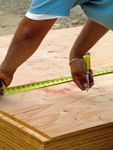 How to Use Plywood Under a Mattress Instead of a Box Spring thumbnail: Diy Ideas, Storage Boxes, Plywood Thumbnail, Diy Plywood, Countertops, Wooden Storage, Boxes Spring, Counter Tops, Wood Tables Tops
