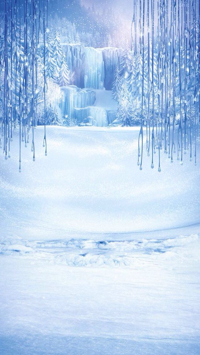 Frozen theme iPhone 5 wallpapers