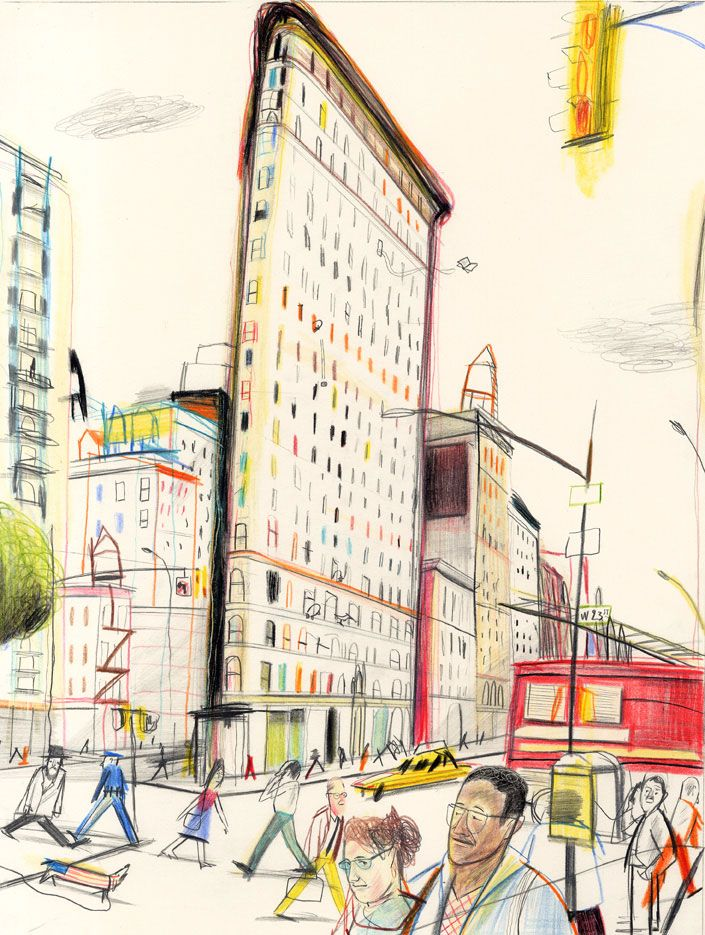 Flatiron | Flatiron | Yann Kebbi Américanin | Expositions | Galerie | Michel Lagarde, 13 rue Bouchardon 75010 Paris